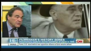 "Oliver Stone ""The Untold History of the United States"" Soledad O"