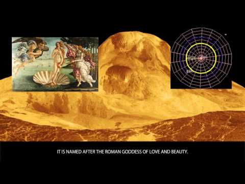 Venus - The Planets - Wiki Videos by Kinedio