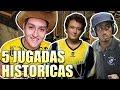 TOP 5 JUGADAS HISTORICAS DEL COUNTER-STRIKE 1.6 !!
