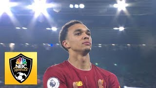 Alexander-Arnold lasers Liverpool into 4-0 lead v Leicester City  Premier League  NBC Sports