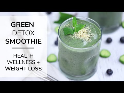 MY GO-TO GREEN SMOOTHIE RECIPE   for health, fitness + weight loss