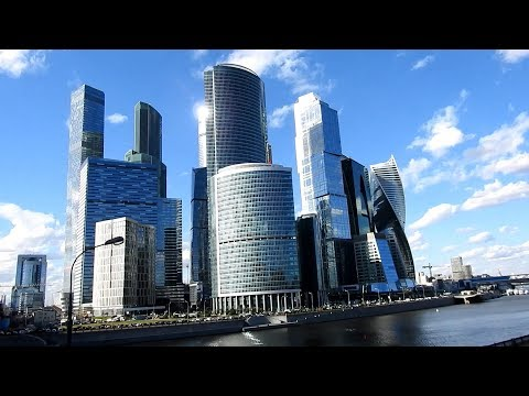 Walk in Moscow International Business Center