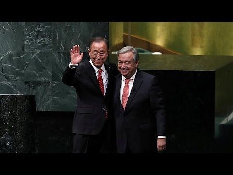 António Guterres sworn in as new UN Secretary General