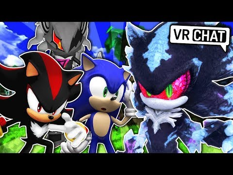 Sonic & Shadow Meet Mephiles! (VR Chat)
