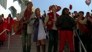 Repeat youtube video GLEE - Stereo Hearts (Full Performance) (Official Music Video)
