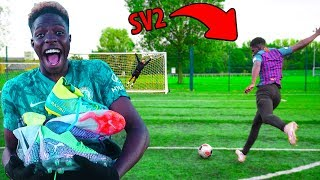 I Gave SV2 NEW $1000 Football Boots For Every Goal He Scores!