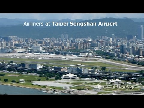 Airliners at Taipei Songshan Airport 松山機場所有民航機