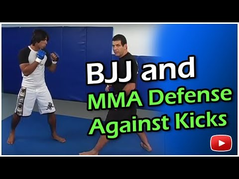 Brazilian Jiu Jitsu MMA - Defense Against Kicks - Master Marcus Vinicius Di Lucia