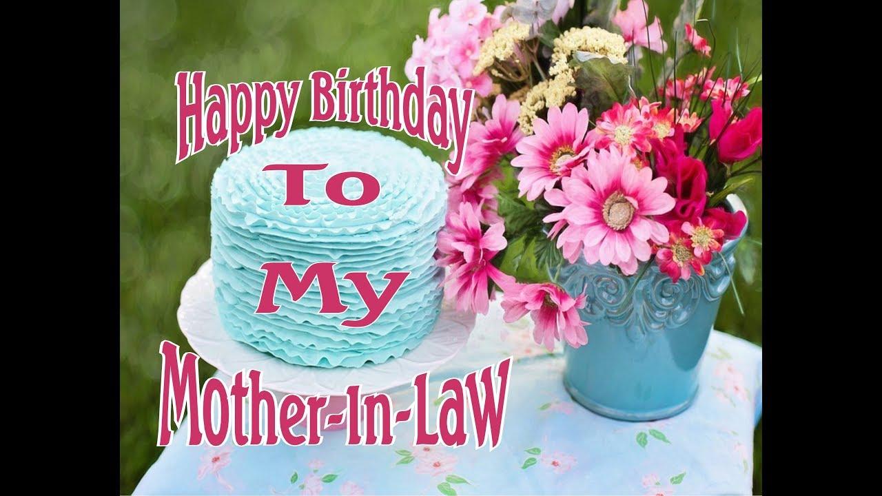 Happy Birthday To My MotherInLaw YouTube