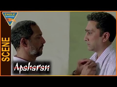 Apaharan Hindi Movie || Nana Patekar Warning To Mukesh Tiwari || Eagle Hindi Movies