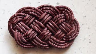 How To Tie An Ocean Plait Mat Knot