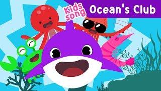 Video Baby Shark Ocean's Club EDM kids Song dance Crab Squid Octopus Shrimp sea Toddler animation download MP3, 3GP, MP4, WEBM, AVI, FLV Juli 2018