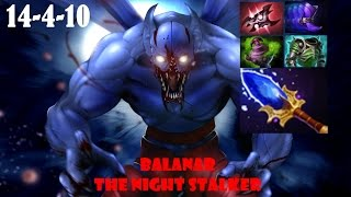 Dota 2- Night Stalker Gameplay 14 Kill Vol 1# | 60 FPS | Public Match | Road To MMR