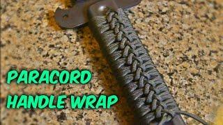 DIY Paracord Handle Wrap