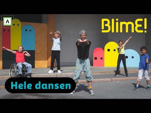 BlimE - Ser deg - Victor Sotberg - BlimE-dansen 2020 - NRK Super