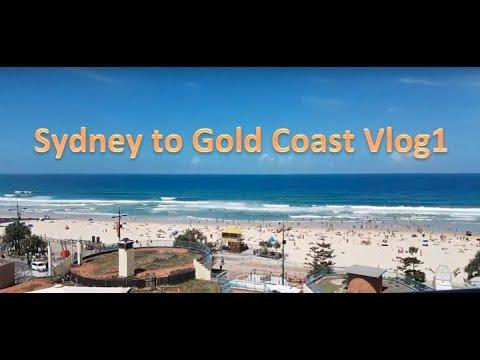 Sydney to Gold Coast Theme Parks. Vlog 1