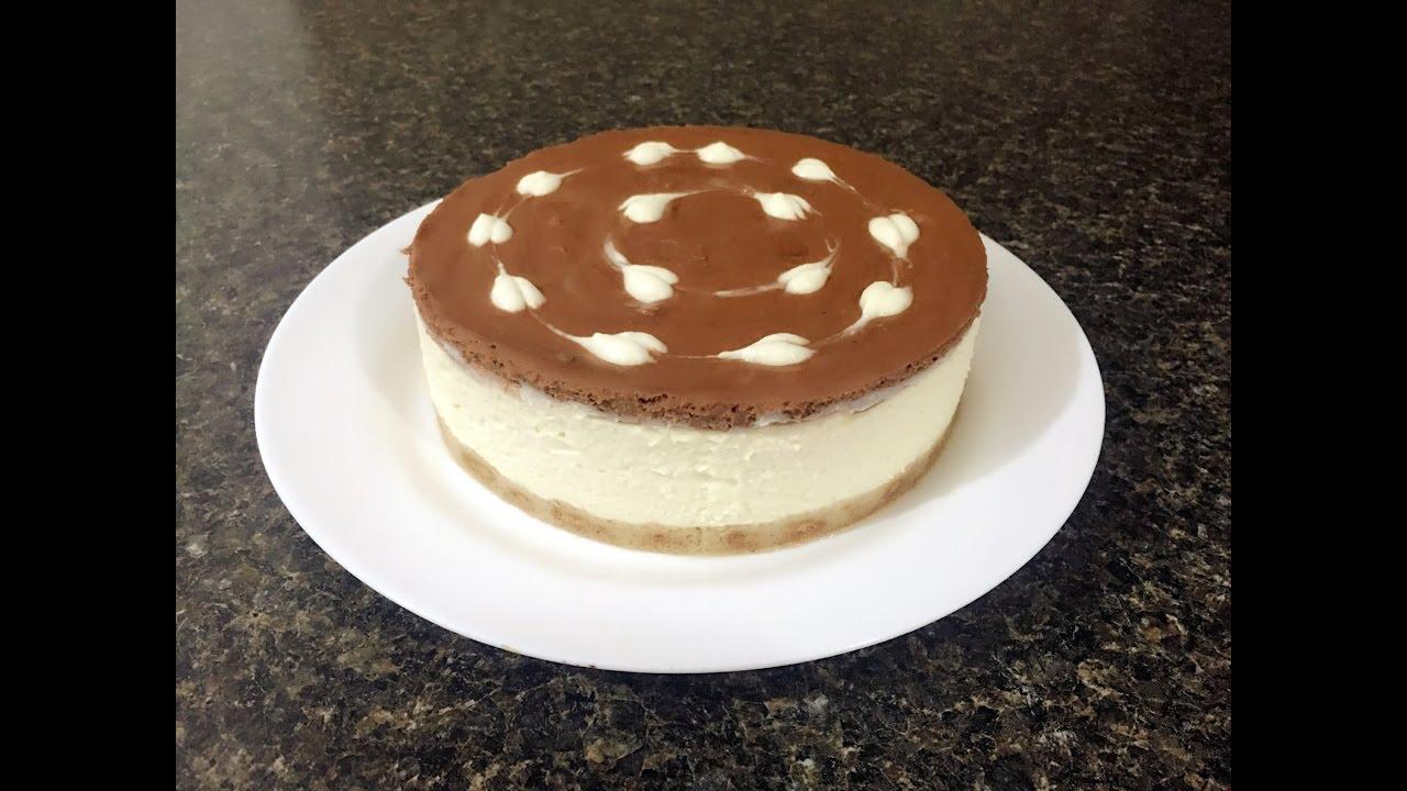 Comment préparer un cheesecake sans cuisson - YouTube
