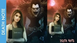 Photo Manipulation - Death Note - PHOTOSHOP CS6