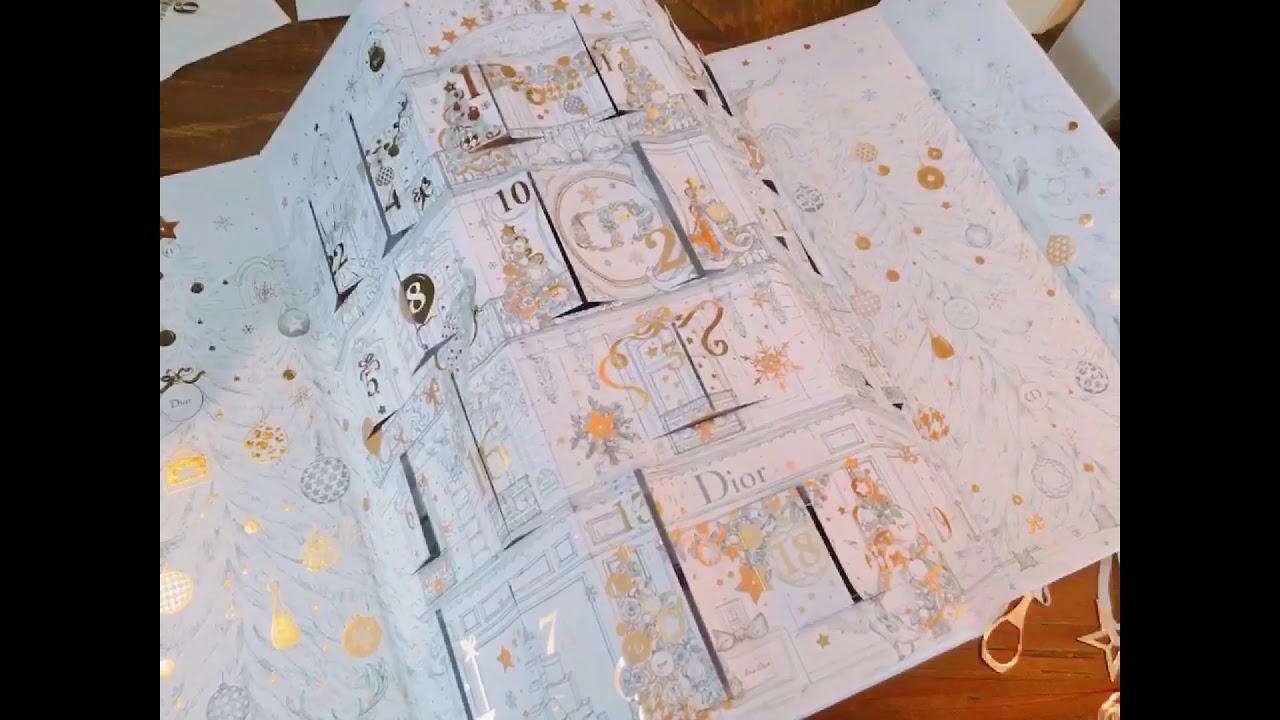 Calendrier De Lavant Dior.Dior Calendar