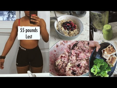 WHAT I EAT IN A DAY TO LOSE WEIGHT II June weight loss challenge