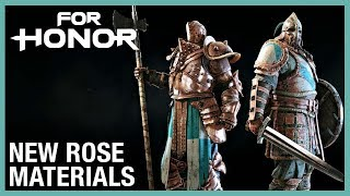 For Honor: New Rose Materials | Weekly Content Update: 04/23/2020 | Ubisoft [NA]