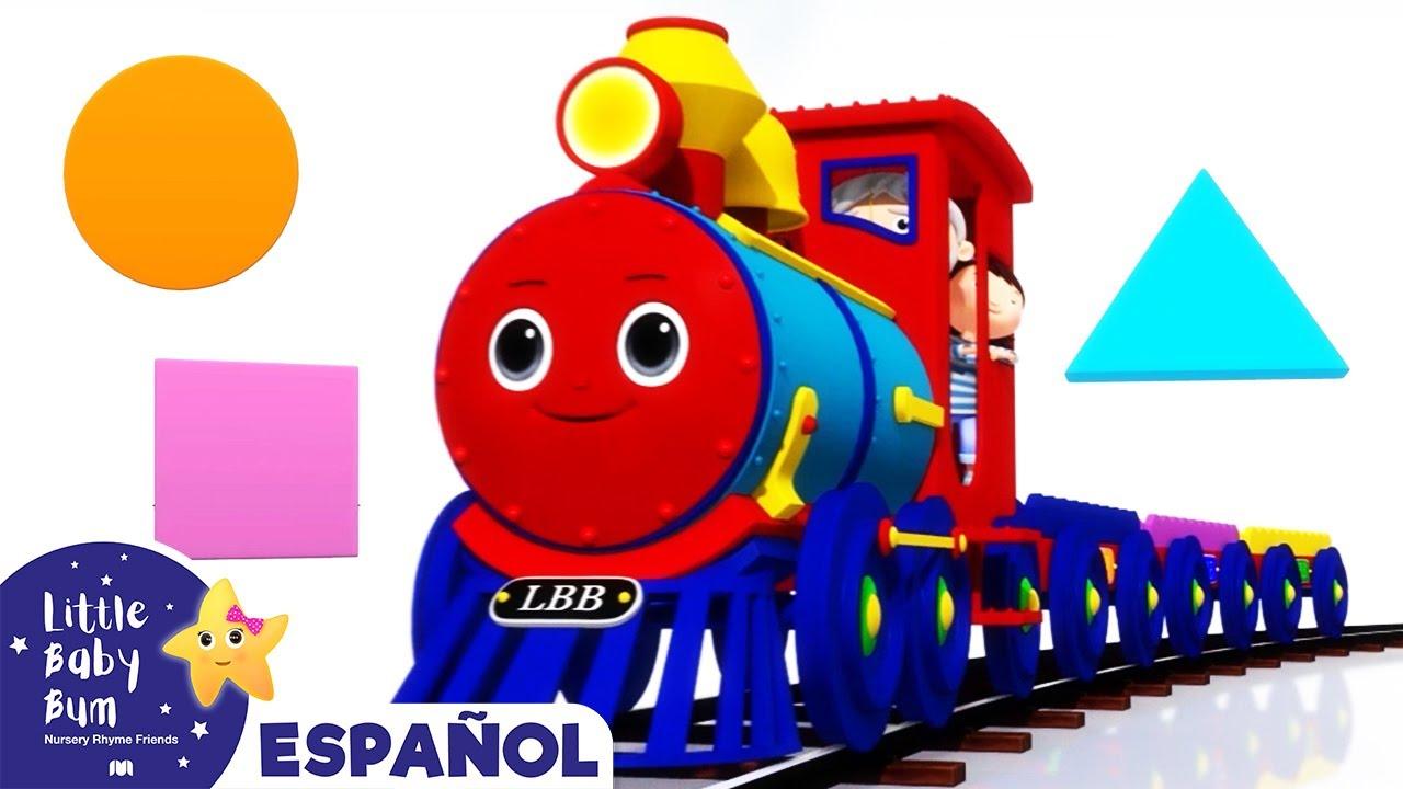 Canciones Infantiles | La Canción del Tren | Dibujos Animados | Little Baby Bum en Español