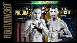 "PROGRAIS VS POSTOL PREVIEW! 3/9 SHOBOX! 140LB WBC ""INTERIM"" TITLE FIGHT! BRONER FIGUEROA MANDATORY?"