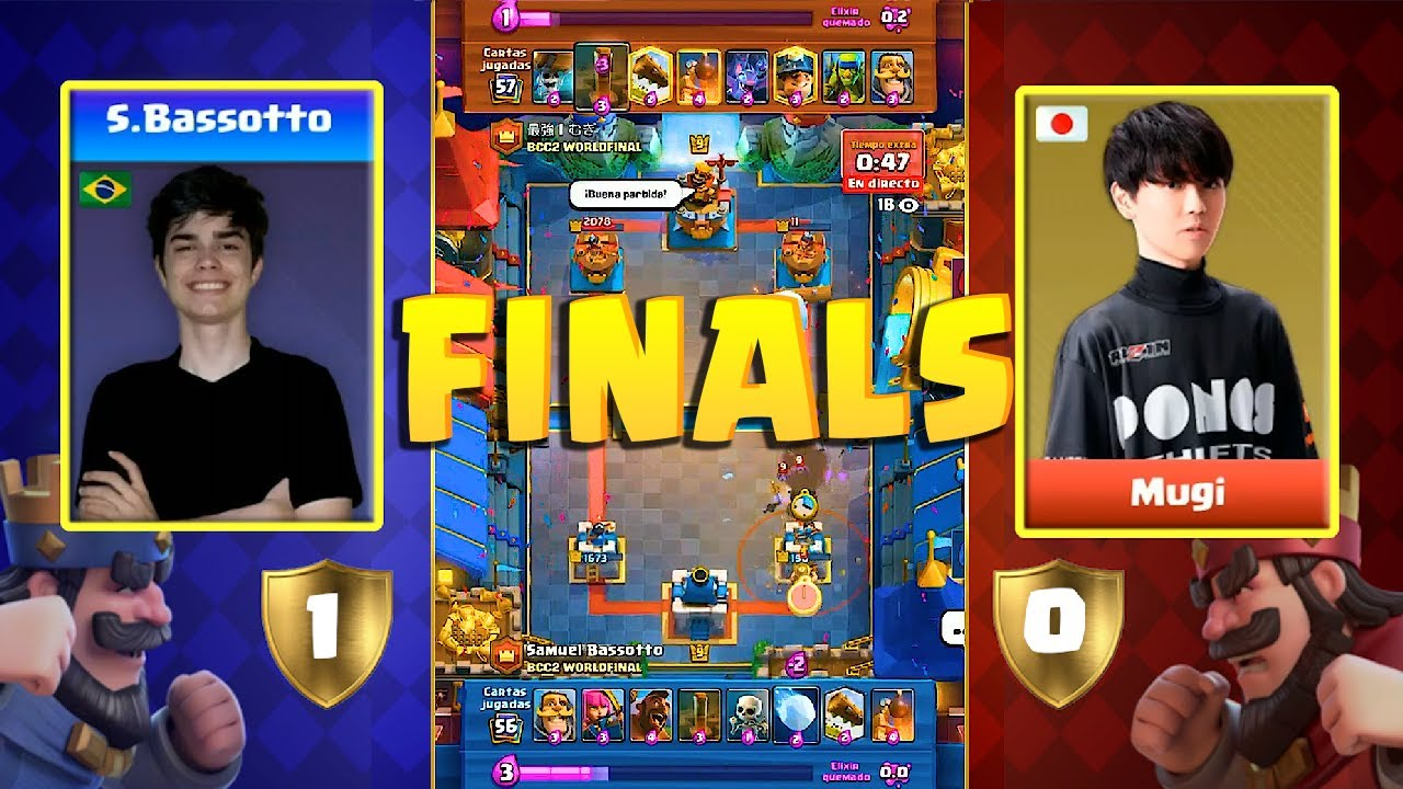 [WORLD GRAND FINALS] BASSOTTO VS MUGI | Bren Chong Cup 2 Clash Royale