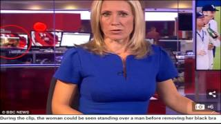 BBC worker spotted watching a VERY inappropriate video
