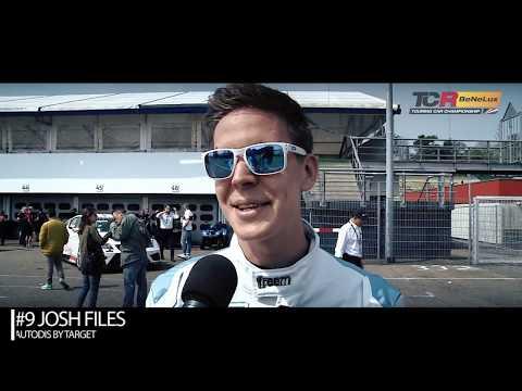 2019 Hockenheim, TCR Europe & TCR Benelux. Interview with pole sitter Josh Files