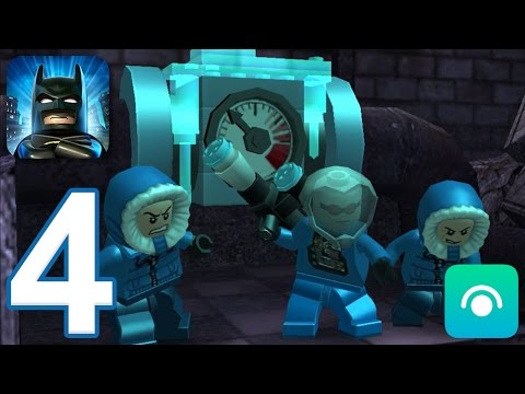 LEGO Batman: DC Super Heroes - Gameplay Walkthrough Part 4 (iOS, Android)