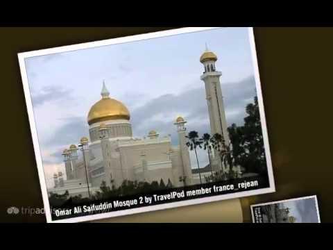 Omar Ali Saifuddin Mosque - Bandar Seri Begawan, Brunei