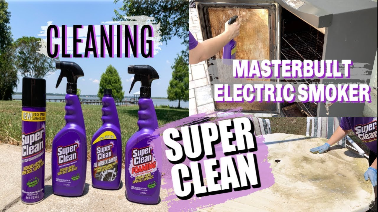 How To Clean The Masterbuilt Electric Smoker Clean With