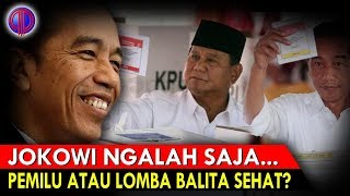 Opo Tumonn? Jokowi Ng4lah Saja: Pemilu, Atau Lomba Balita Sehat?!