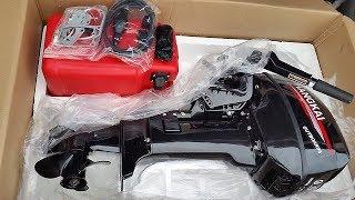 видео китайский лодочный мотор