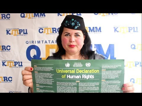 Crimean Tatars joined the Stand up for Human Rights campaign (24)