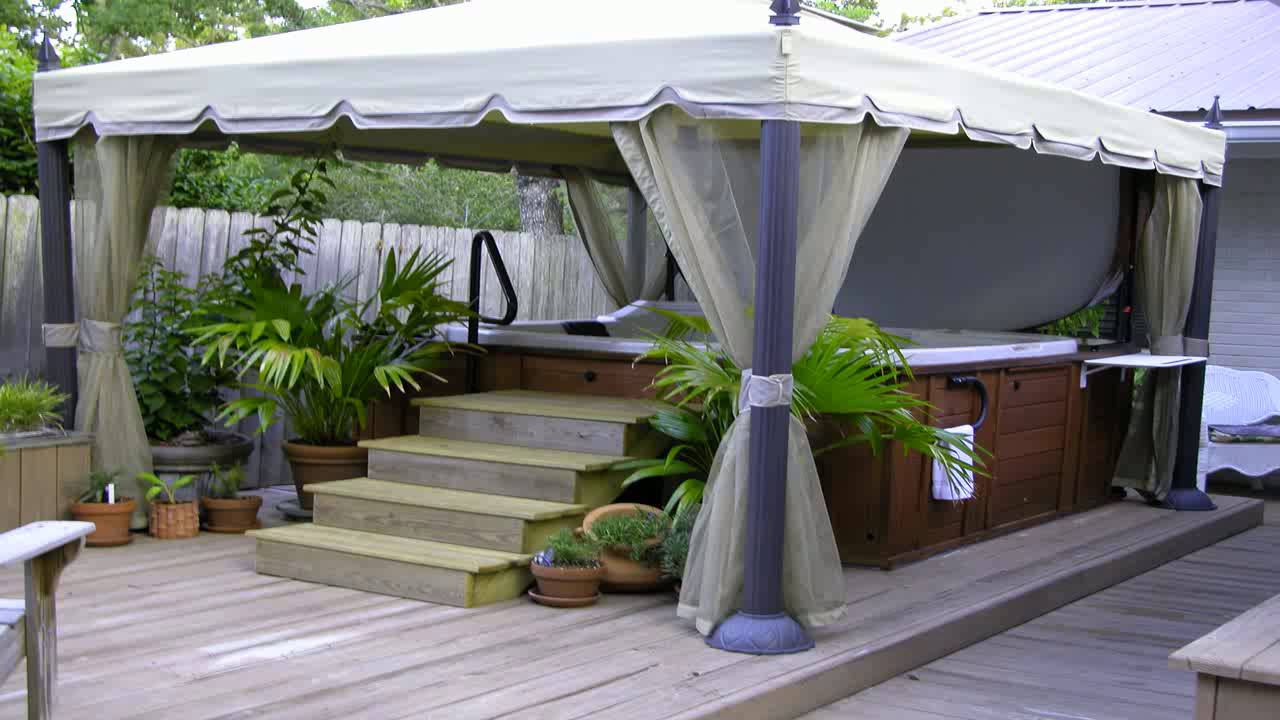 Replacement Canopy For Home Depots Mediterra Gazebo 10x12