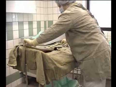 Правила накрытия стерильного стола