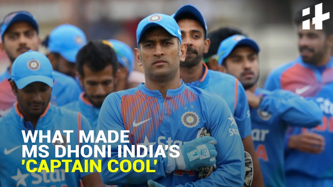 indiatimes trending what made ms dhoni india s captain cool