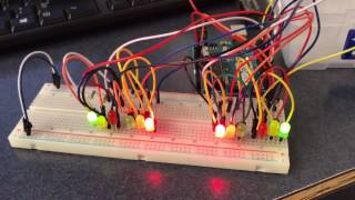 nmsu mechatronics arduino project two way traffic light spring 2017
