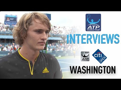 Zverev Reflects On Winning Washington Title 2017