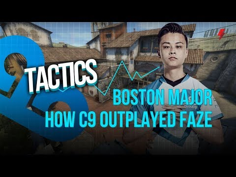 How Cloud9 outplayed FaZe with smart contact plays (Boston Major Finals OT)