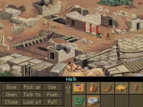 Indiana Jones and the Fate of Atlantis Walkthrough: Crete