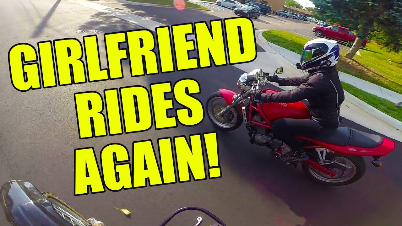 Girlfriend rides