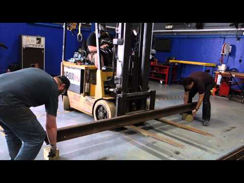 Captain's Blog 5 8 2015 Cutting Rail and New Sponsor Wall