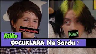 Billie Eilish Çocuklarla Tatlı Sohbet - Türkçe Altyazılı