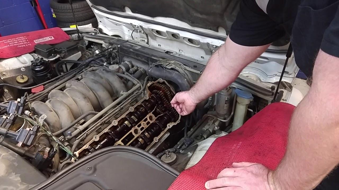 2000 Jaguar XJ8 Timing Chain Tensioner Problem