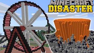 Minecraft: VOLCANOES & EARTHQUAKES - MINE PARK - Custom Map [5]