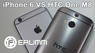 Apple iPhone 6 vs HTC One M8 большое сравнение. Что лучше One M8 или iPhone 6 мнение FERUMM.COM(Apple iPhone 6 цены и наличие: http://manzana.ua/apple-iphone-6-16gb-silver HTC One M8 купить: http://manzana.ua/htc-one-m8-glacial-silver-ucrf Apple ..., 2014-11-15T11:30:57.000Z)