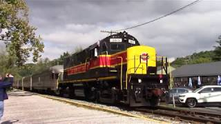 Cuyahoga Valley Scenic Railroad Scenic and Fall Fyler with 365 and B&O 800